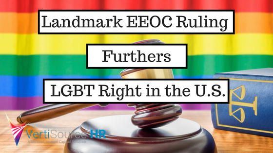 Landmark EEOC Ruling Furthers LGBT Rights in the U.S.