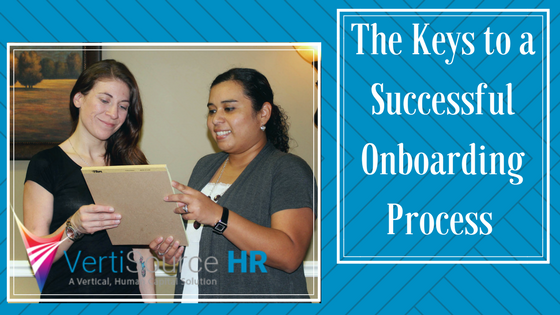 The Keys to a Successful Onboarding Process