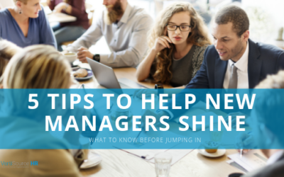 5 Tips to Help New Managers Shine