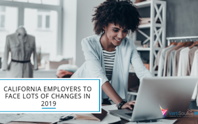 California Employers to Face Lots of Changes in 2019